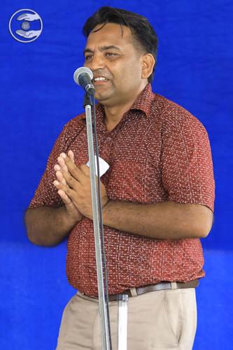 Vijay presented a Punjabi Kavita, Pathankot, PB