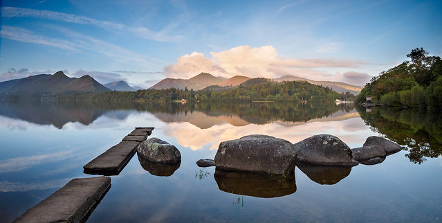 Derwent water morning reflections 3