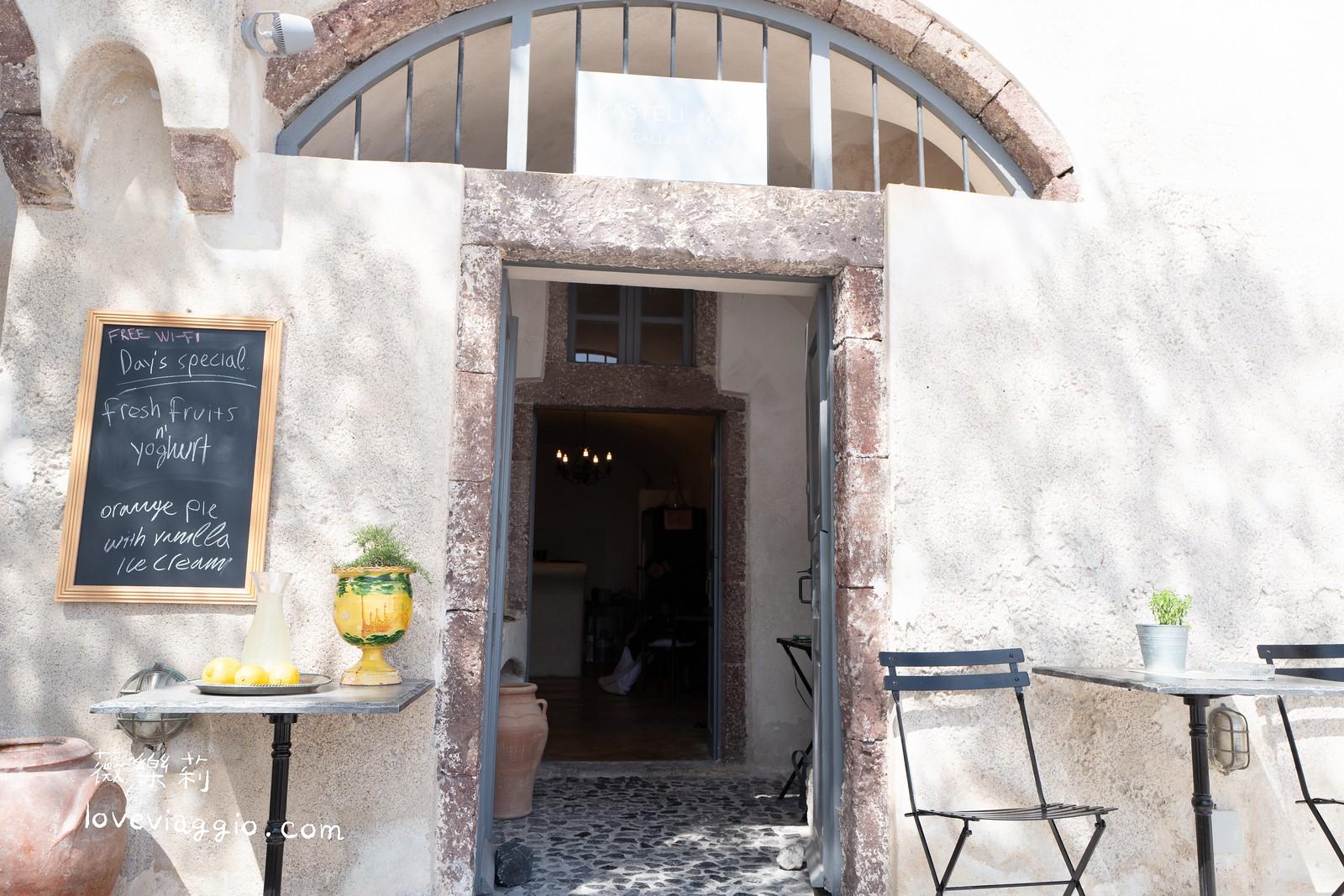 【聖托里尼Santorini】租車自駕環島 慢遊皮爾戈斯 Pyrgos 寧靜白色小鎮 @薇樂莉 Love Viaggio | 旅行.生活.攝影