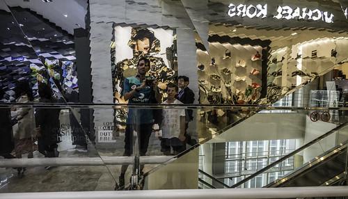 Selfie in the mirror + Ezra , Seoul, South Korea-47