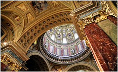 St Stephen's Basilica, Pest (ceiling detail)