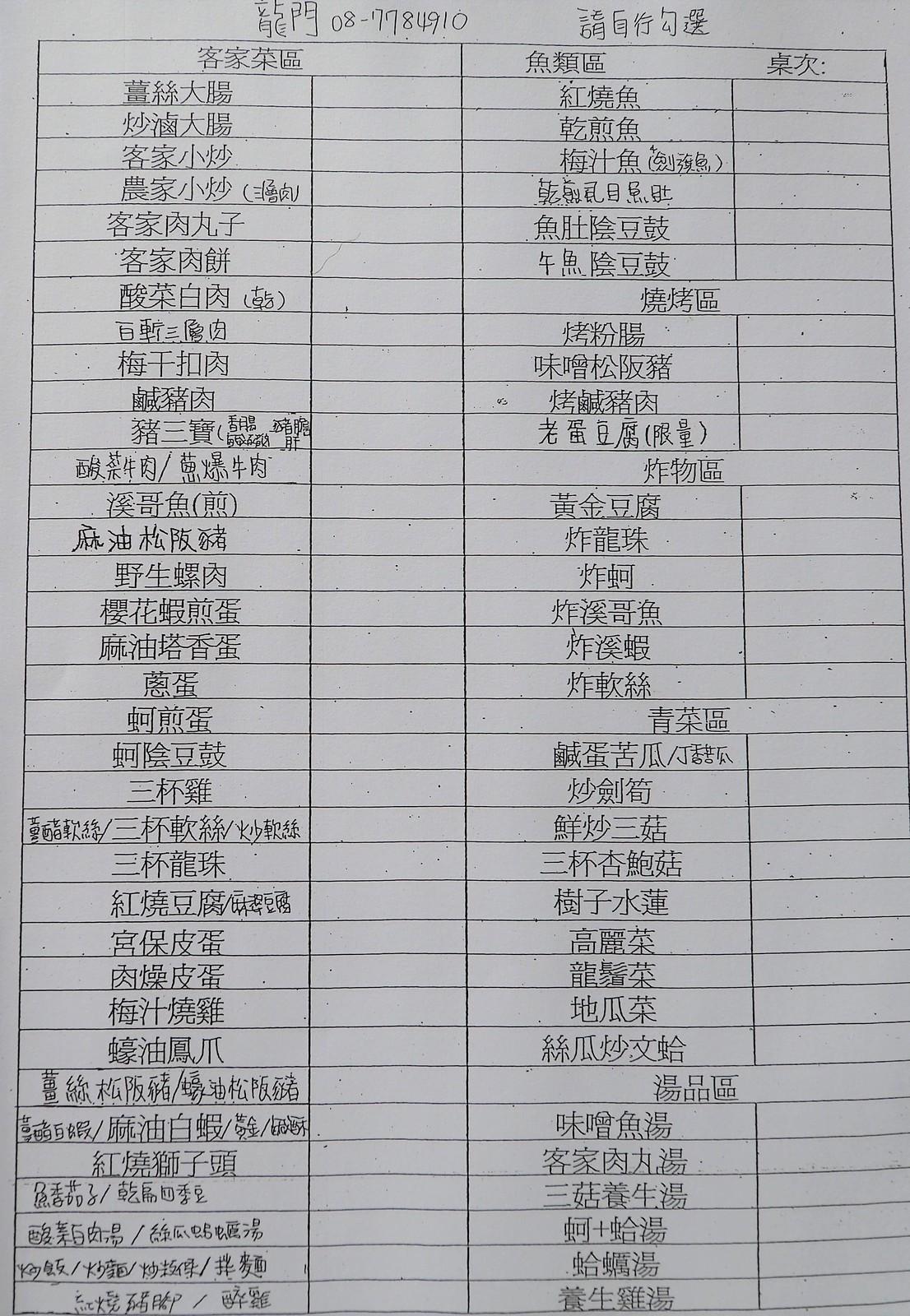 屏東內埔龍門客家食堂 (17)