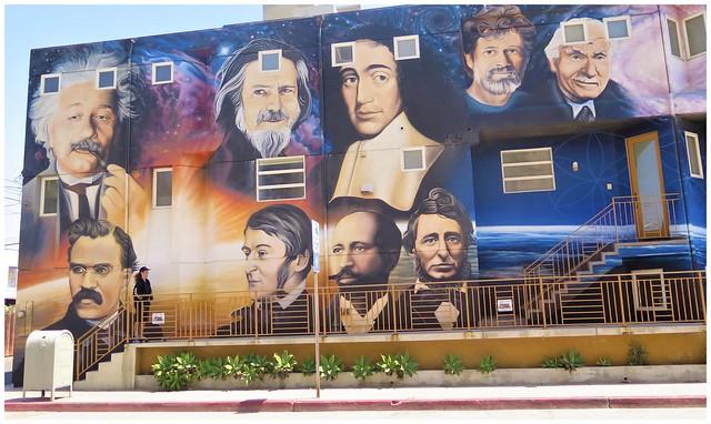 Wall Mural @ Venice Beach, Calif (HWW)