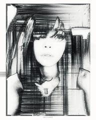 Colorize her // Original photo & model: @sinisterjoze . . . . . #graphicdesign #graphic_art #graphicdesigner #photomanipulation #monochrome #blackandwhite #bnw #bnw_life #bnw_society #bnw_rose #pixelsorting #pixelsortingart #abstractartorg #pixelsorter #d