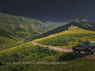 Andorra mountain landscape: La Massana. Altitude 2000+ collection. La Massana, Vall nord, Andorra