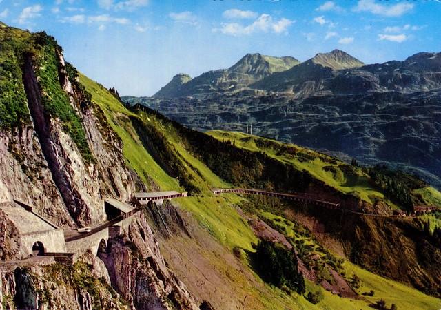 Austria - Vorarlberg - Flexenpass [002] - 1978 - front