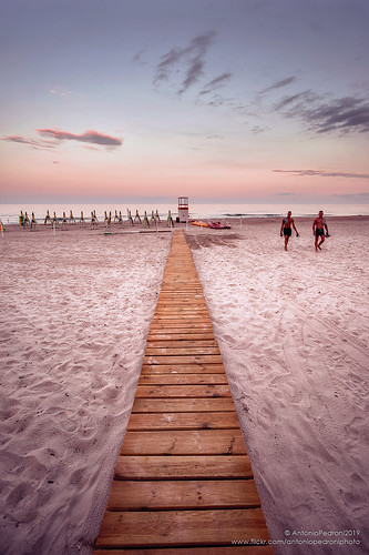 foximanna spiaggia sardegna beach passerella tramonto sunset