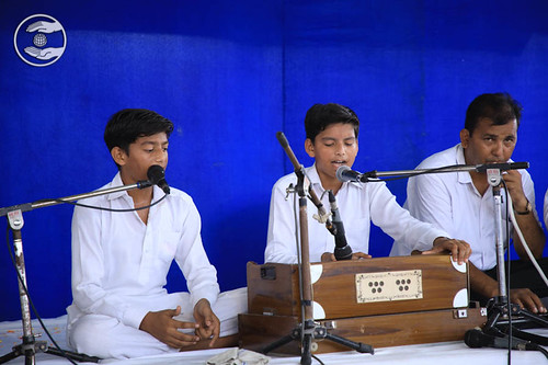 Group song by devotees