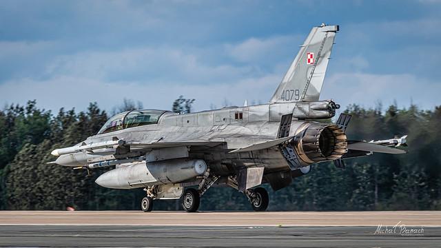 Lockheed Martin F-16D Jastrząb (4079)