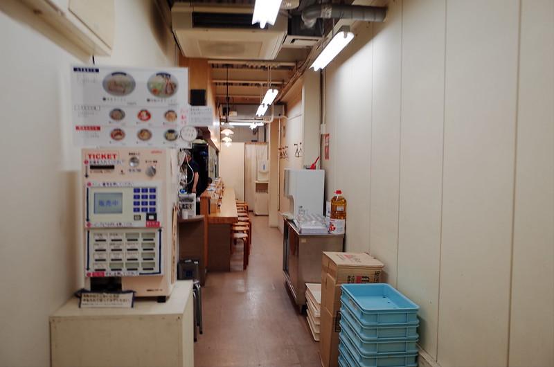 本郷三丁目ゆきラーメン山手店内