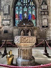 Cirencester Church, Roman Corinium, England