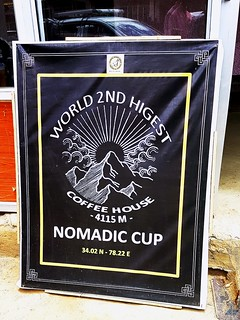 Nomadic Cup in Ladakh - World's 2nd Highest Coffee House