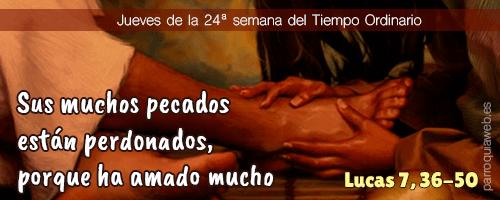 Lucas 7, 36-50 - Acción Católica General Málaga