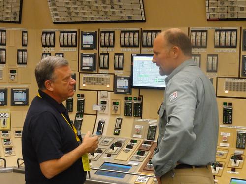 NRC Commissioner Wright Visits Braidwood Nuclear Power Plant