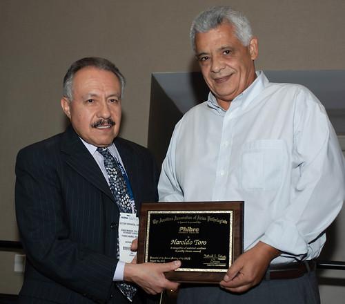 Dr. Hector Cervantes and Dr. Haroldo Toro