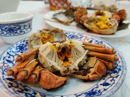 Female and Male Taihu Crabs