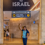 My Arrival to Ben Gurion Airport in Tel Aviv, Israel
