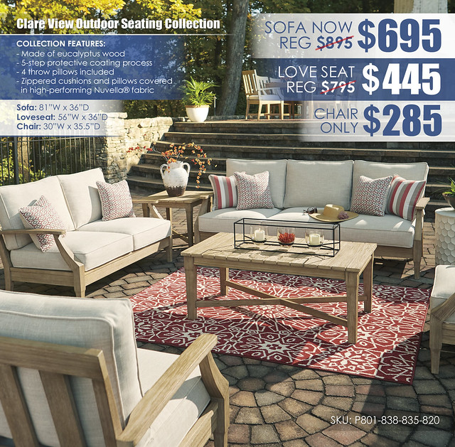 Clare View Outdoor Seating Collection_P801-838-835-820