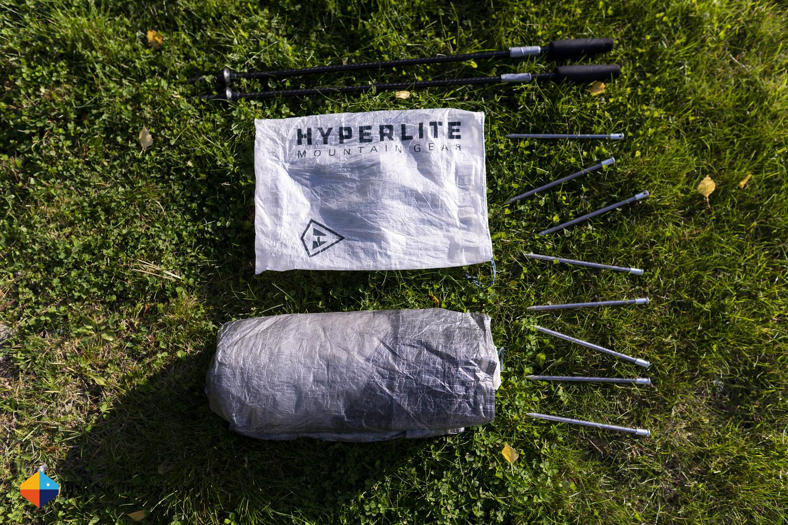 Packed Hyperlite Mountain Gear Dirigo 2