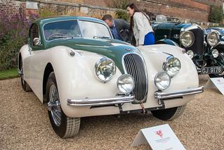 Concours of Elegance 2019, Hampton Court - 1952 Jaguar XK120 (LVC 345)