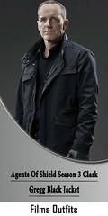 Agents Of Shield Season 3 Clark Gregg Black Jacket