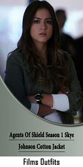 Agents Of Shield Season 1 Skye Johnson Cotton Jacket