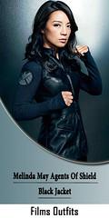 Melinda May Agents Of Shield Black Jacket