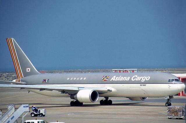Asiana Cargo 767F 'HL507'