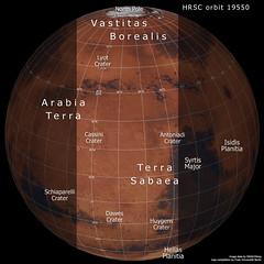A slice of Mars in context: Terra Sabaea and Arabia Terra