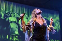 Irene Grandi and Pastis live at Rock sul Serio (BG) 23-07-2017