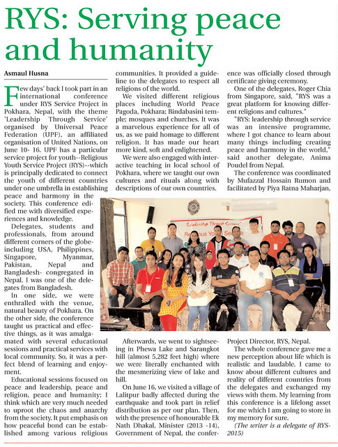Nepal-2016-05-09-RYS-Nepal Projects Featured in Media