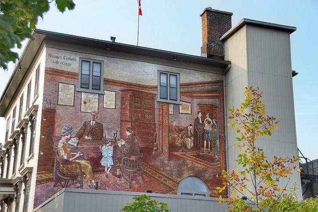 Brockville Ontario - Canada -  Stewart Corbett Law Offices Mural