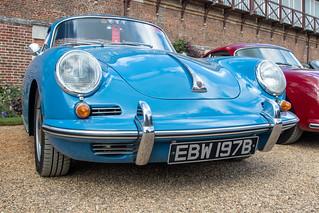 Concours of Elegance 2019, Hampton Court - 1964 Porsche 356B (EBW 197B)