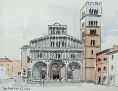 Holidays in Tuscany. Today: Lucca / Duomo San Martino