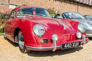 Concours of Elegance 2019, Hampton Court - 1956 Porsche 356A Coupe (440 XUH)