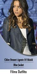 Chloe Bennet Agents Of Shield Blue Jacket