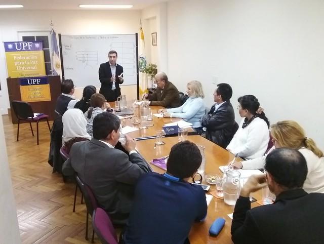 Argentina-2016-05-07-UPF-Argentina Holds Seminar on Peace Principles