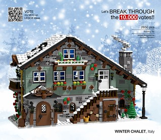Winter Chalet (front view)