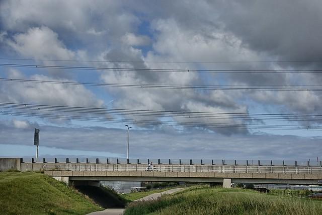 Viaduct in de Veilingroute