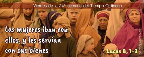 Lucas 8, 1-3 - Parroquia Stella Maris (Málaga)