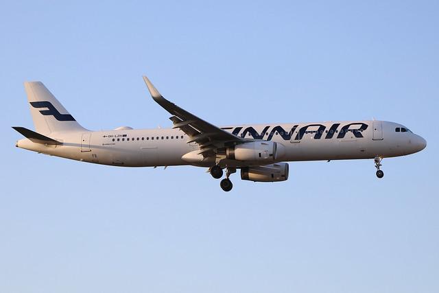 OH-LZH  -  Airbus A321-231 (SL)  -  Finnair  -  LHR/EGLL 19/9/19