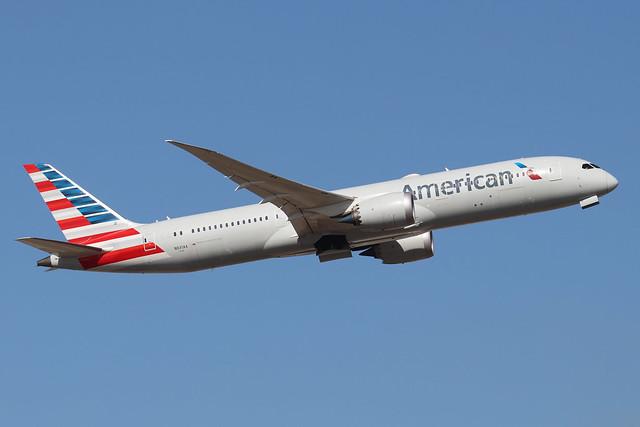 N831AA  -  Boeing 787-9 Dreamliner  -  American Airlines  -  LHR/EGLL 19/9/19