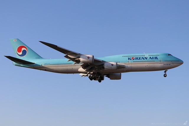 HL7633  -  Boeing 747-8B5  -  Korean Air  -  LHR/EGLL 20/9/19