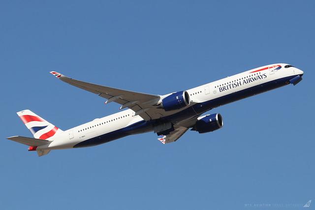 G-XWBA  -  Airbus A350-1041  -  British Airways  -  LHR/EGLL 19/9/19