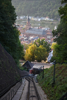 Great view from funicular carriage