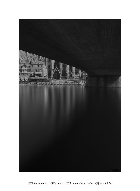 DINANT Bridge Charles de Gaulle