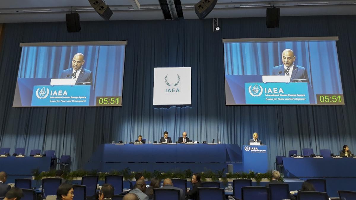 Venezuela participa en la 63 Conferencia General de la OIEA