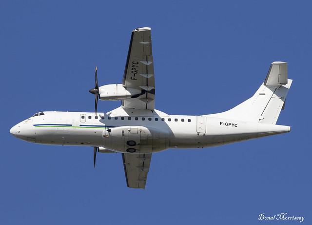 HOP! ATR-42 F-GPYC