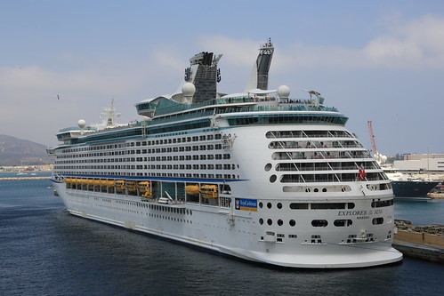 Explorer of the Seas. Gibraltar