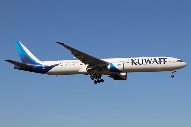 9K-AOJ  -  Boeing 777-369 (ER)  -  Kuwait Airways  -  LHR/EGLL 19/9/19